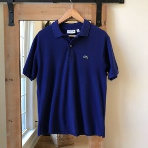 Lacoste Navy Blue Original Polo Shirt
